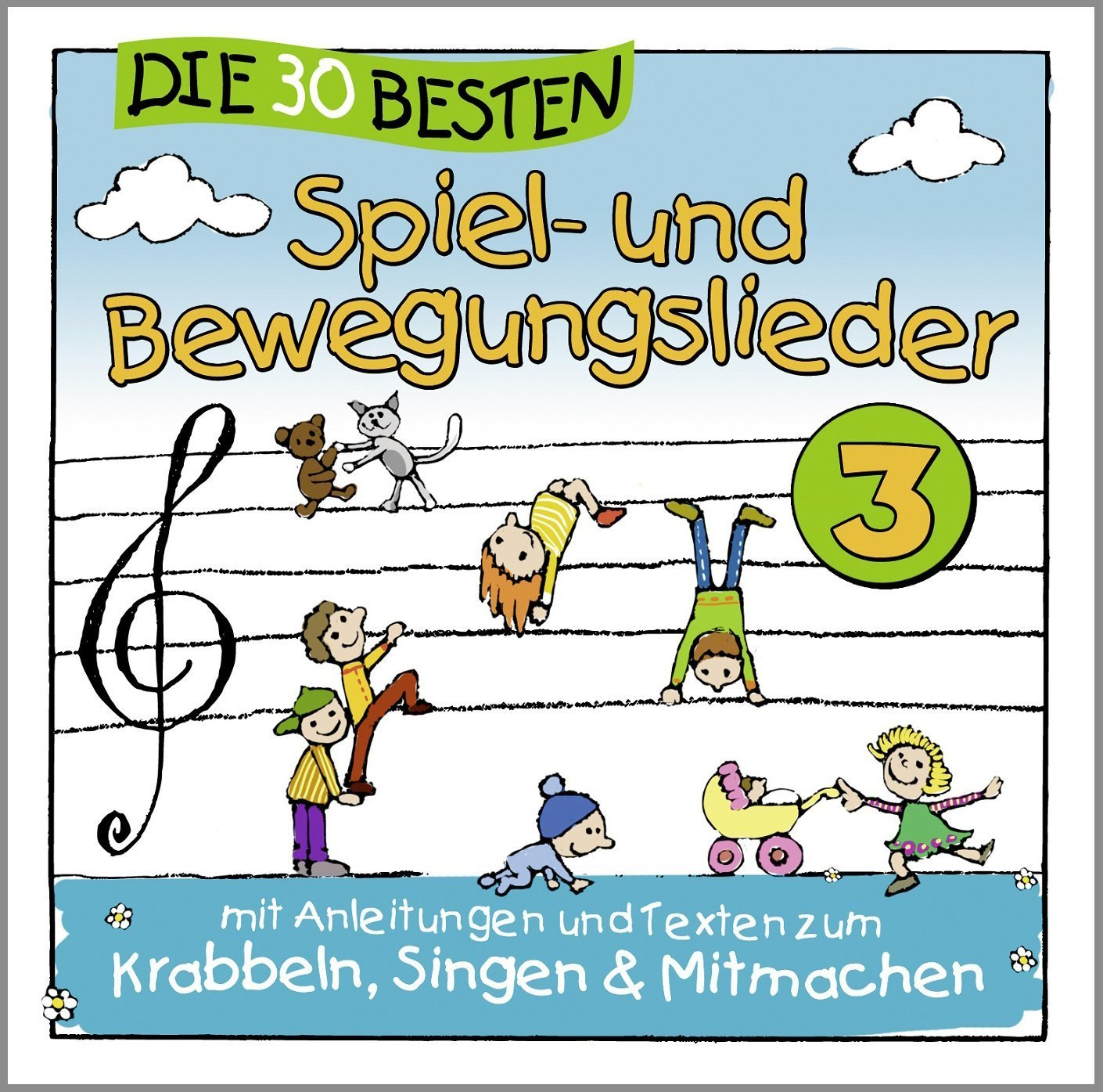 spiel und bewegungslieder 3 cds f r kinder musik einhard shop. Black Bedroom Furniture Sets. Home Design Ideas